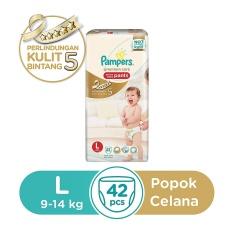Pampers Popok Celana L-42 Premium Care