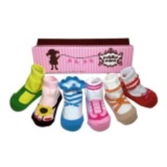 Petite Mimi Socks 6 Packs (0-12M) Girl Combination