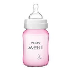 Philips Avent SCF573/13 CLASSIC+ PP 9OZ DECO P&B SINGLE - Butterfly