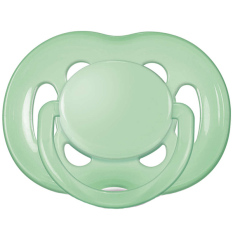 Philips AVENT Soothers 6-18M Freeflow Pacifiers SCF178/14 - Hijau