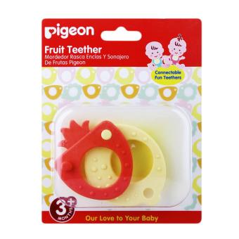 Pigeon Fruit Teether Red Yellow