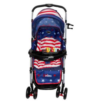 Pliko Rodeo PK-398 USA - Baby Stroller - Kereta Dorong Bayi Rodeo USA - 2