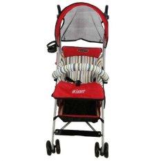 Pliko Stroller Atau Kereta Dorong Buggy Winner - Merah