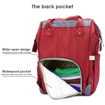 Portable Baby Diaper Bag for Travel - intl - 3