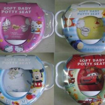 Potty Seat - Toilet Training Handle - Dudukan Toilet Anak - CORAKCOWOK