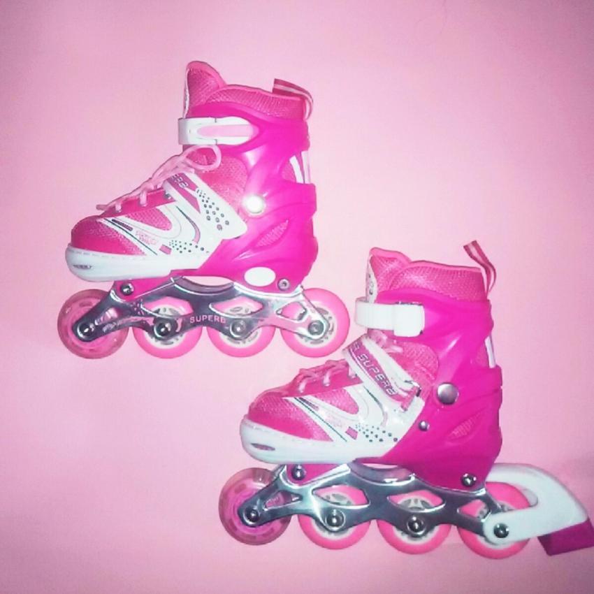 Sport Power Line Sepatu Roda Anak Pink M - Info Daftar Harga Terbaru ... 0affae10d8