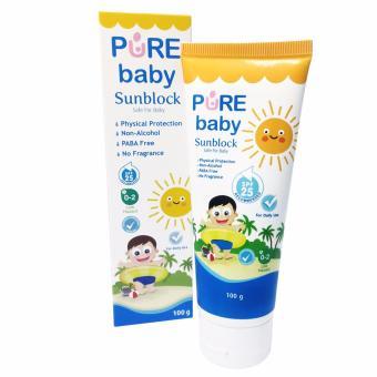 Pure Baby Sun Block 100gr
