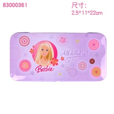 Putri Barbie pensil Pensil kapasitas besar alat tulis alat tulis