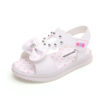 Putri Musim Panas Tergelincir Anak Perempuan Tali Sepatu Sandal Summer