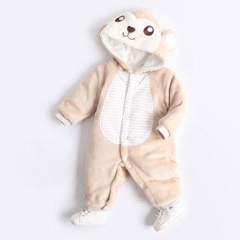 Qiudong laki-laki musim dingin yang hangat untuk pergi keluar pakaian bayi baju bayi