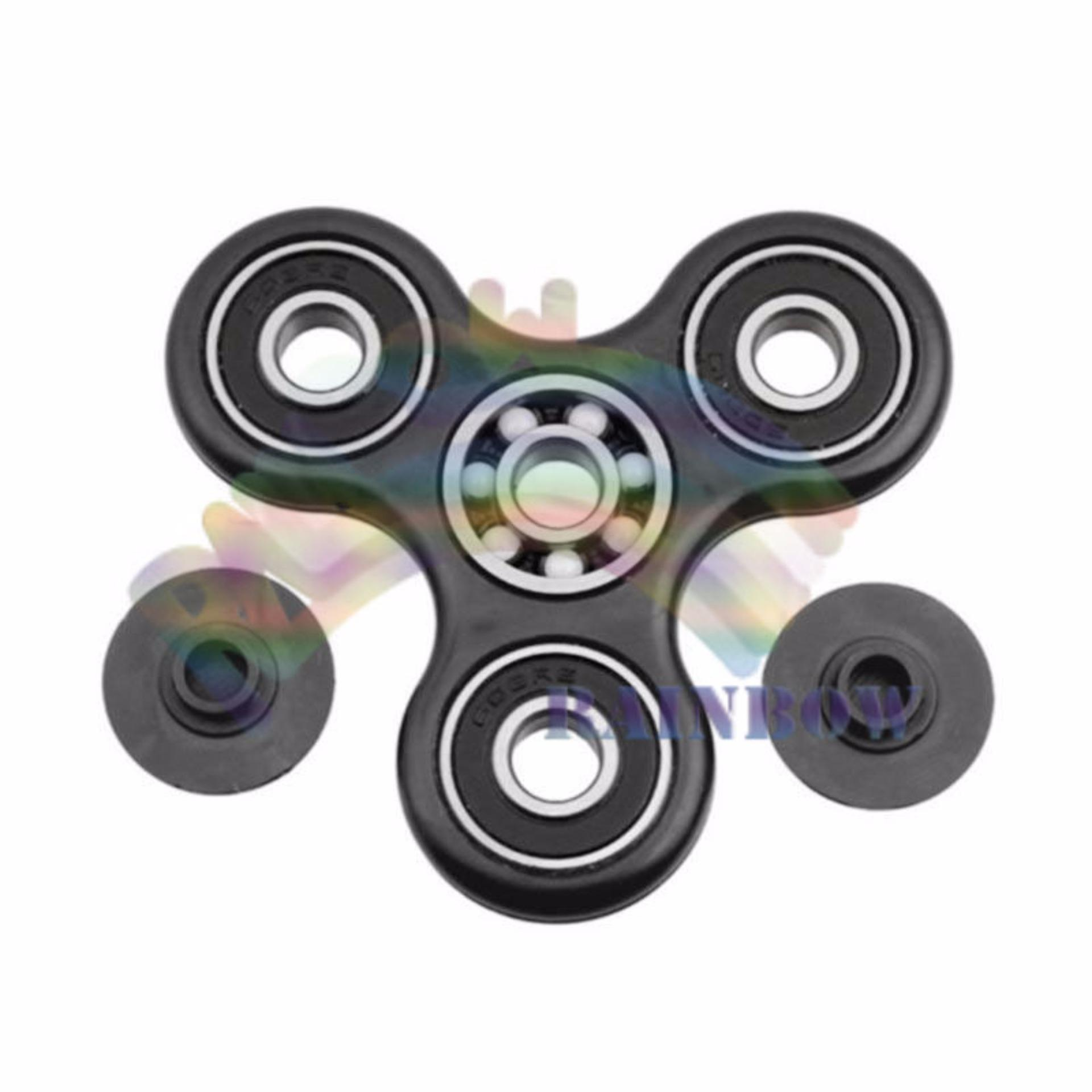 ... Rainbow Fidget Spinner Hand Toys Mainan Tri Spinner EDC Ceramic Ball / Creative Games / Funny ...