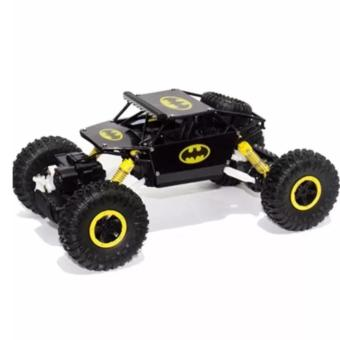 Remote Control Car 4WD Rock Crawler Super Hero Theme Car Off-Road - Hitam