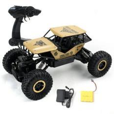 REMOTE CONTROL ROCK CRAWLER SKALA 1.18 4WD OFFROAD 2.4ghz - MOBIL REMOTE TERLARIS / gold
