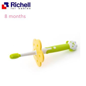 Richell Baby Training Toothbrush 8 Months