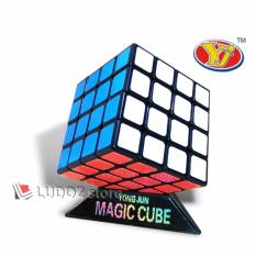Rubik 4x4 BLACK Base Yong Jun Guansu LICIN Sangat Cocok Utk Speed Magic Cube 4x4x4 Dasar Hitam