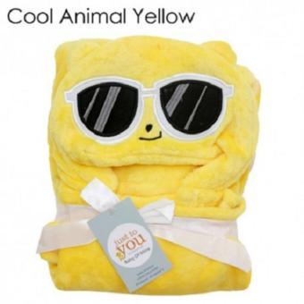 Selimut Topi C Double Fleece / Selimut Hoodie Bulu Bayi 3D / Hoodie Blanket Tudung