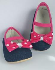 Sepatu Bayi Prewalker Jeans Pita