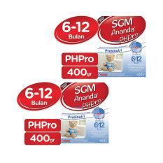 SGM Ananda PHPRO -6-12 bulan - 400g - Bundle 2 Box