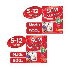 SGM Eksplor Presinutri 5+ Susu Pertumbuhan - Madu - 900gr - Bundle isi 2 Box