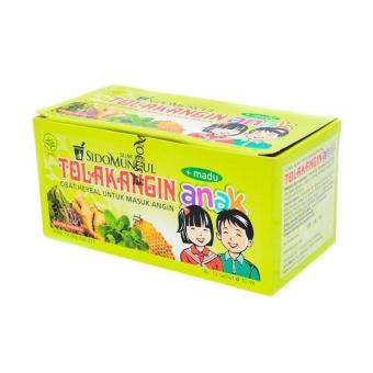 Sido Muncul Tolak Angin Cair Anak Minuman Herbal [10Ml/Box]