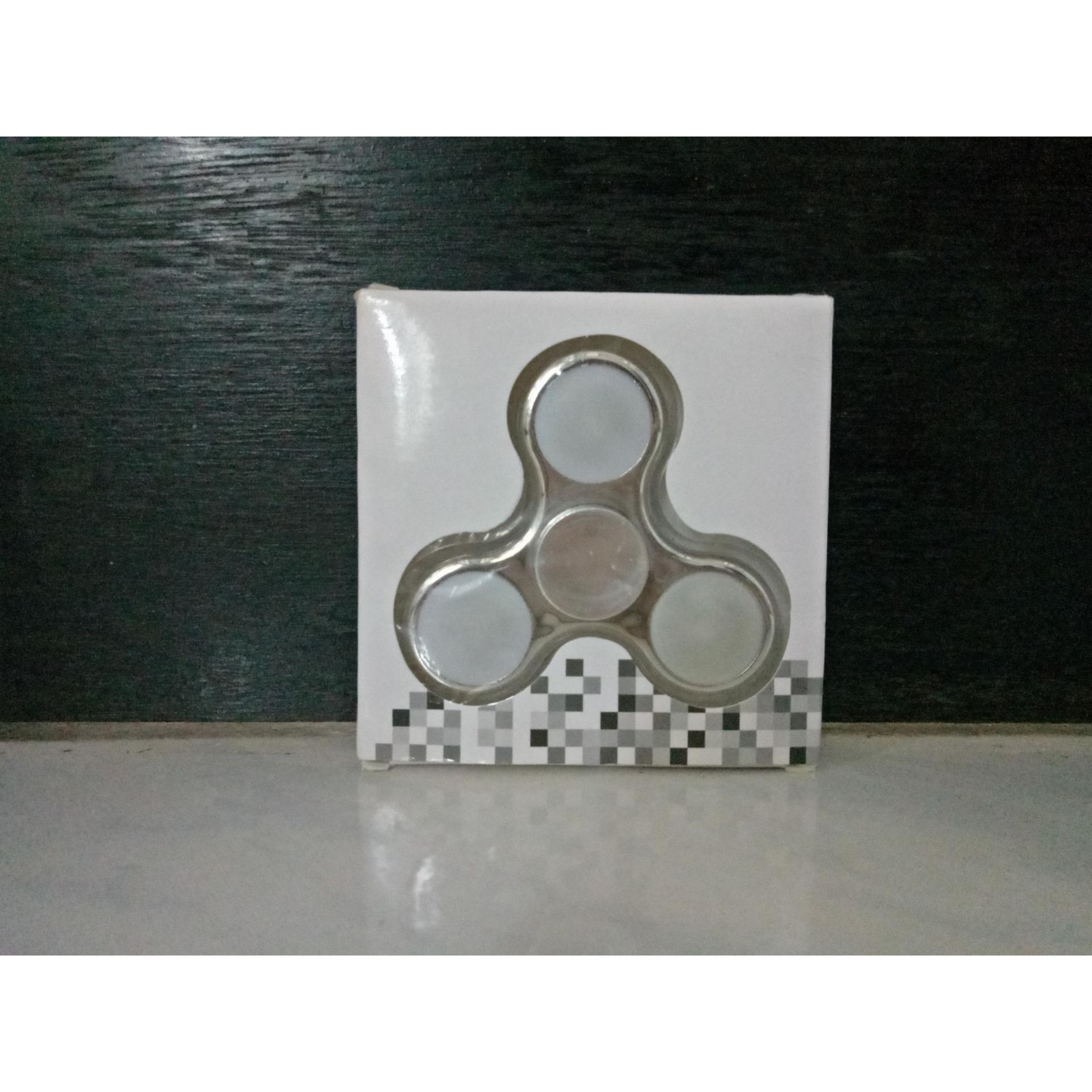 Spinner Segi Enam Daftar Harga Terlengkap Indonesia Terkini Fidget Full Metal Tiga Sj0048 Bahan Alumunium Metalic Bisa Nyala Warna Warni Bukan Plastik