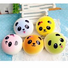 Squishy Bun Panda Warna 7 cm