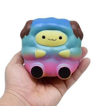 Squishy Cute Galaxy Sheep Kambing Squishy Kambing Medium By Pat Pat Zoo Slow Rising Squeeze Toy