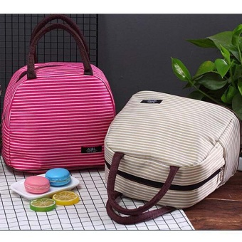 Striped Diaper Bags Maternity Mummy Messenger Insulation BagsMother Handbag Baby Stroller Bag Baby Care Thermal Nappy Bags -intl