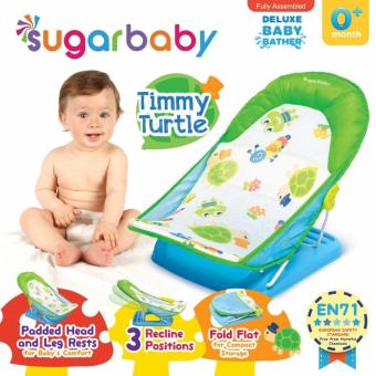Sugar Baby Deluxe Baby Bather Timmy Turtle