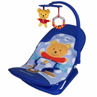 Sugar Baby Infant Seat Bouncer I LOVE BEAR - (Biru)