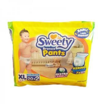 harga Sweety Popok Bayi Bronze Pants - XL 20+2 Lazada.co.id