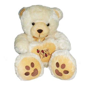 Jual Syuka Kids Boneka Teddy Bear Love Besar 70 Cm Cream SNI - Shoptania di  Lazada 3ce594a822