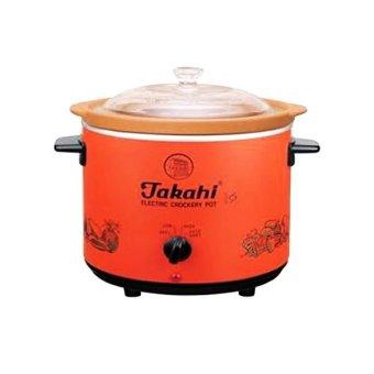 Jual Takahi Slow Cooker Alat Untuk Memasak Makanan Bayi - 12l - Orange Murah