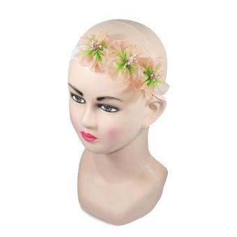Tamagoo Headband Baby Tiffany Flower Aksesoris Bayi Perempuan -Peach 30