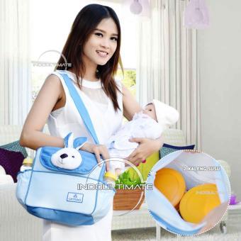 Indoultimate - Tas Perlengakapan Bayi Kelinci SMALL Cintaka Tas  Diapers susu Tas bayi 10503c5b93