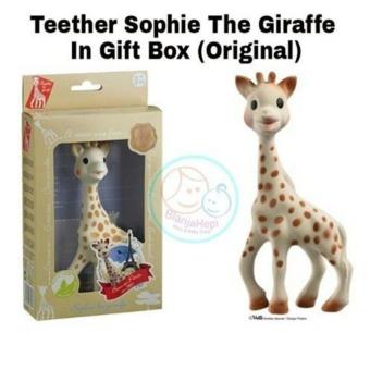 Teether Sophie The Giraffe Original - Mainan Gigitan Bayi