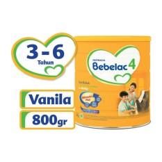 Terlaris - Bebelac 4 Bebenutri Plus Susu Pertumbuhan - Vanila - 800 gr