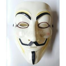 Topeng Anonymus V For Vendetta Cream
