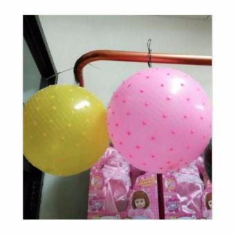 TOYS bola balon karet duri pink