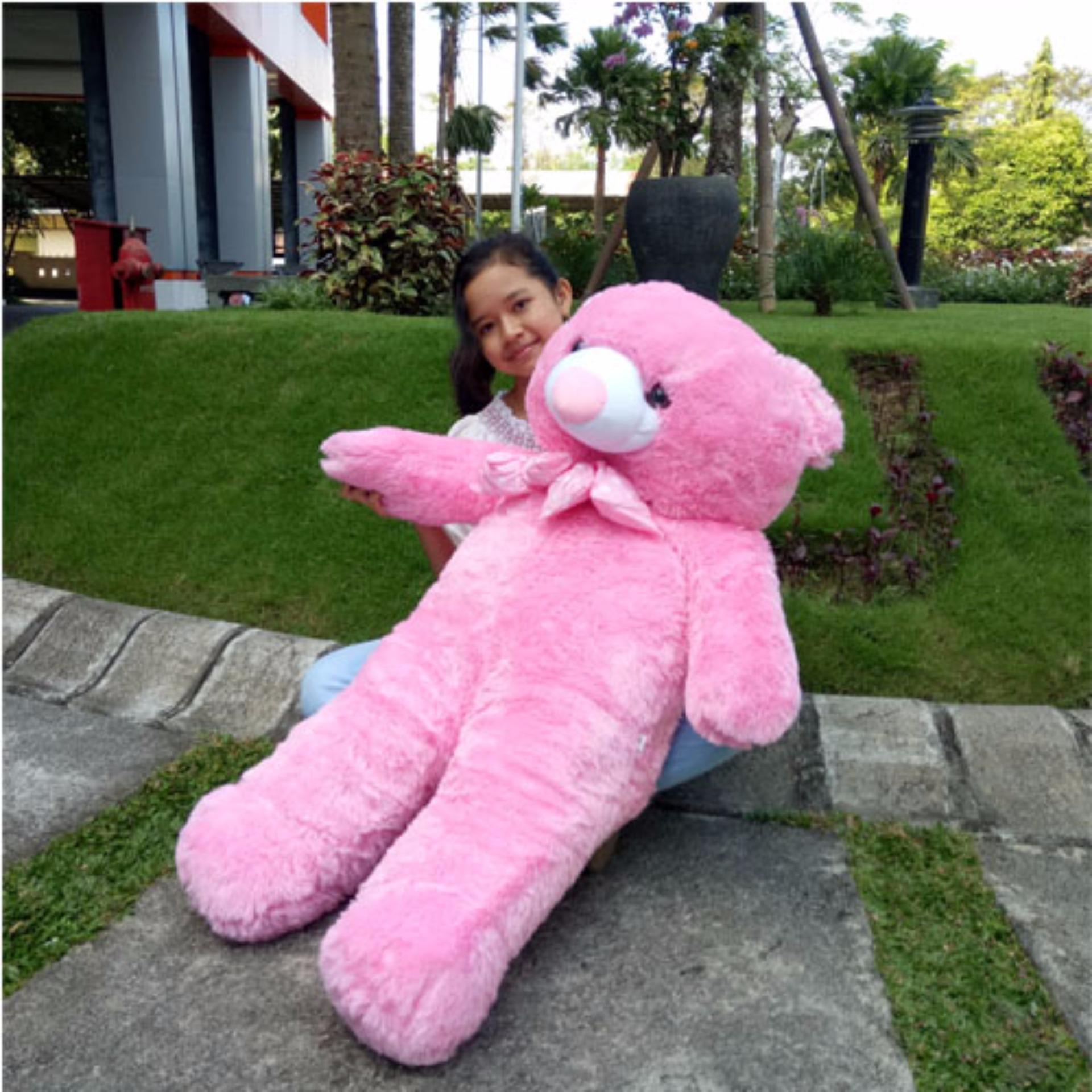 Harga Baru Tr Boneka Beruang Teddy Bear Jumbo 125 Cm Pink Price Checker
