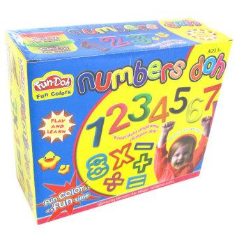 TSH Numbers Doh - Lilin Mainan - 1 Set
