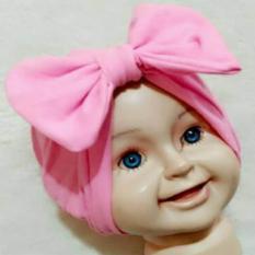Turban Pita Bayi & Anak (pakaian anak perempuan hijab kerudung gamis)