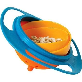 Universal Gyro Bowl Mangkuk Makan Anak Anti Tumpah
