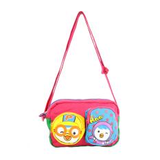 Versi Korea dari anak laki-laki dan perempuan tas messenger anak tas bahu