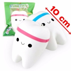 VIVIAN - I Love Teeth Squishy / Squishy Gigi - Jumbo Size