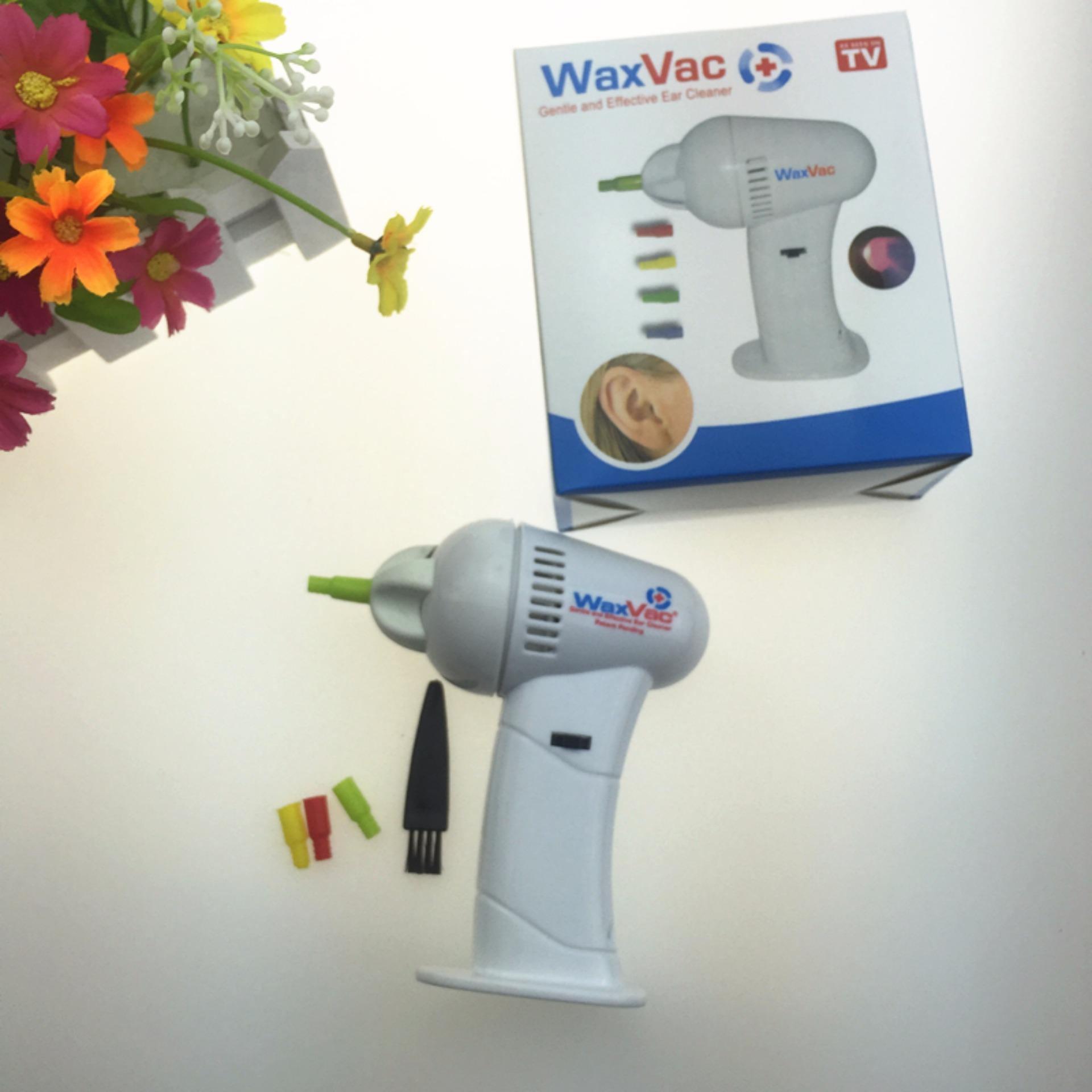 Alat Kesehatan Telinga Waxvac Pembersih Include Baterai Wax Vac Ear Vacuum Wvc Gentle And Effective Cleaner Elt 22 Jual Produk Terbaik Termurah Lazada Co Id Source