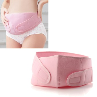 XL Maternity Back Support Belt Band Abdomen Pregnancy Belly Tummy Brace Waist New Pink - Intl