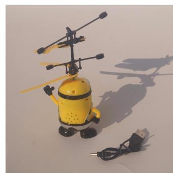 Detail Gambar Yangunik Mainan Helikopter Minion Drone Flying Toys - Kuning dan Variasi Modelnya