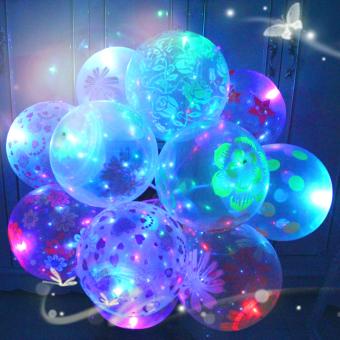 Yeguang kartun ulang tahun LED lampu dengan mainan light-emitting balon