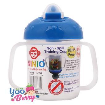 YooBerry Ninio Training Spout Cup Gelas Minum Bayi Anti Tumpah Tahan Panas .